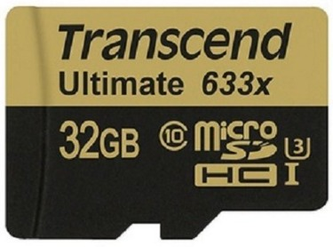 可傑 Transcend 創見 UHS-1 32GB 633X 95Mb/s C10 microSD 高速記憶卡