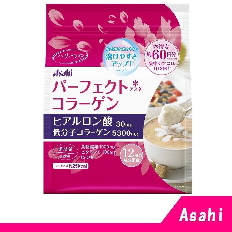 朝日 Asahi 膠原蛋白粉 60日份 (袋裝)447g 【RH shop】日本代購