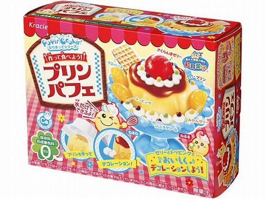 【知育菓子】KRACIE手作布丁聖代DIY糖果(25g)