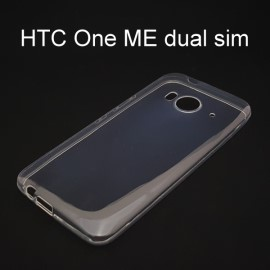超薄透明軟殼 [透明] HTC One ME dual sim