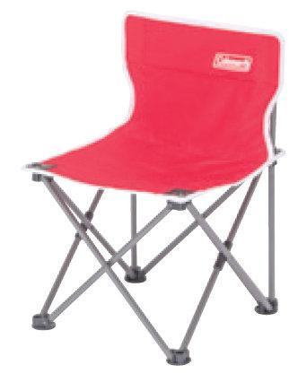 【鄉野情戶外專業】 Coleman |美國|  吸震摺椅 / 露營折疊椅 / 兒童座椅_豔陽紅 _CM-3104JM000