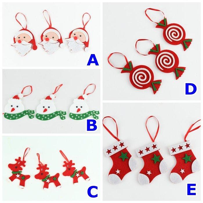 X射線 【X29367】聖誕吊飾-綜合下標區$59,聖誕節/聖誕樹/聖誕佈置/聖誕掛飾/裝飾/掛飾/會場佈置/DIY/材料包