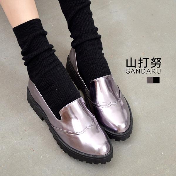 厚底懶人鞋 漆皮紳士鞋*- 山打努SANDARU【09935#20】