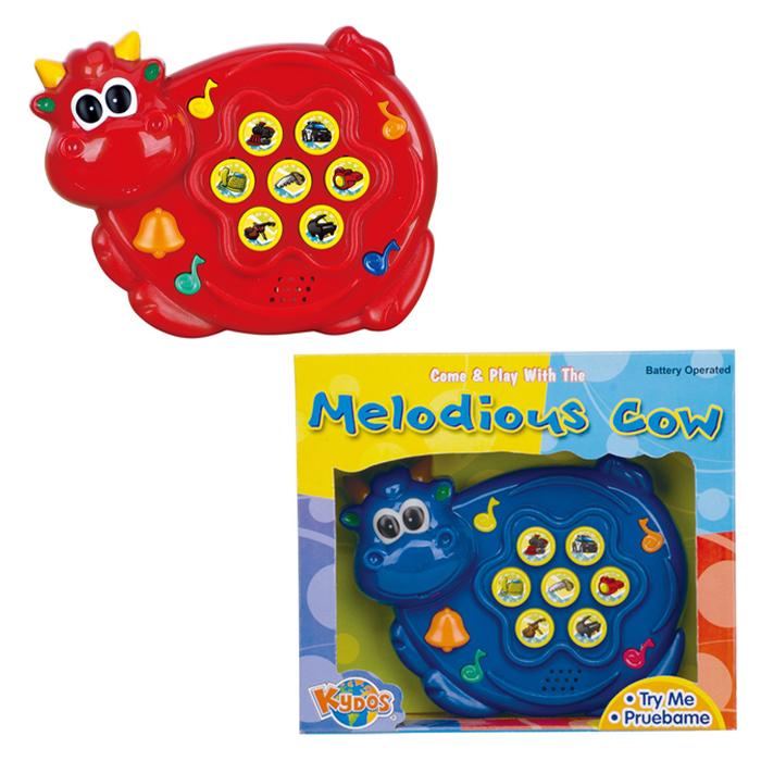EMC兒童玩具音樂牛(藍、紅)【德芳保健藥妝】
