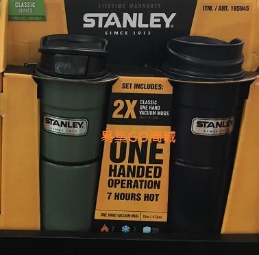 易集GO商城- 代購~STANLEY史丹利 不鏽鋼真空保溫杯組(473ml)垂紋綠/垂紋藍/紅-185945 (下標詢問現貨)