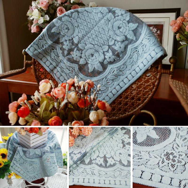 +灰藍格蘭紗小桌巾【正方 45*45 cm】☆沙發巾☆餐墊☆桌布+