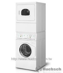 Huebsch 優必洗 YTGE5ASP(瓦斯型) 12KG/15KG 上烘乾下洗衣機【零利率】