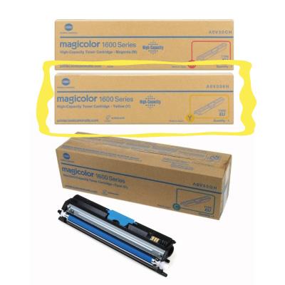 KONICA MINOLTA magicolor 1600W / 1650EN / 1690MF原廠彩色高容量碳粉-黃色Y