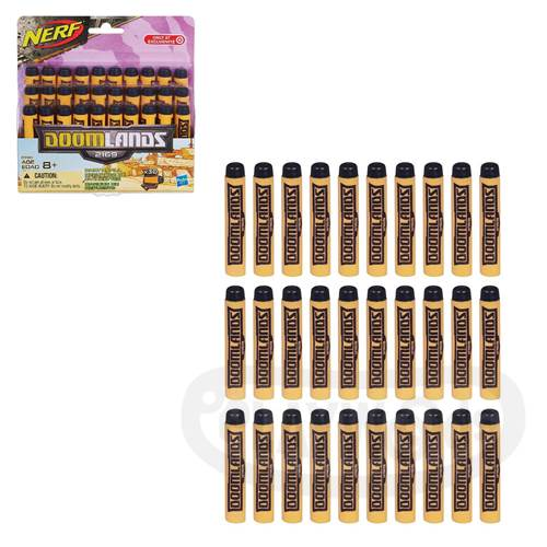 【Playwoods】[NERF樂活打擊]2169救世系列:30發子彈補充包(30入/Doomlands系列子彈/幻滅世界2169/孩之寶Hasbro)