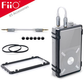 志達電子 HS6 FiiO X5專屬配件-HS6耳擴綑綁組合 可搭配E12/E12A耳機功率擴大器