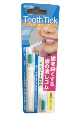 Tooth Tick 立潔淨齒白橡皮擦筆(一般型) 1支+補充品x1 ☆真愛香水★