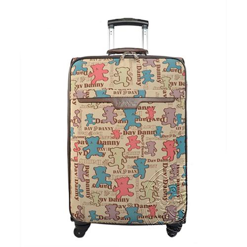 DAV DANNY 大衛丹尼 餅乾熊系列-可愛維尼小熊防潑水系列行李箱
