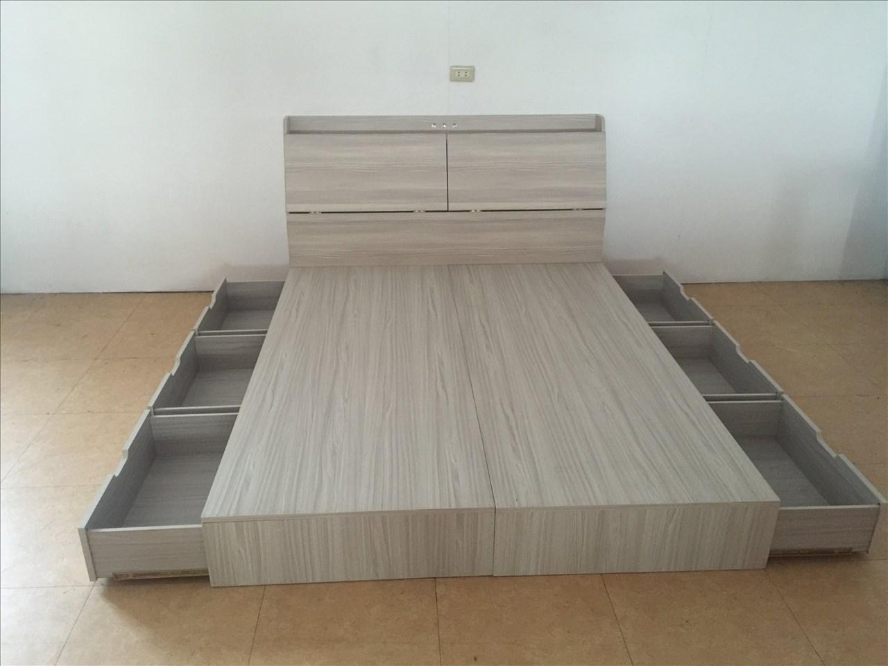 【石川家居】SD-66 裝潢設計愛用色現代5尺6分板抽屜收納床底(不含床頭)六抽屜 100%台灣製造 不含其他商品