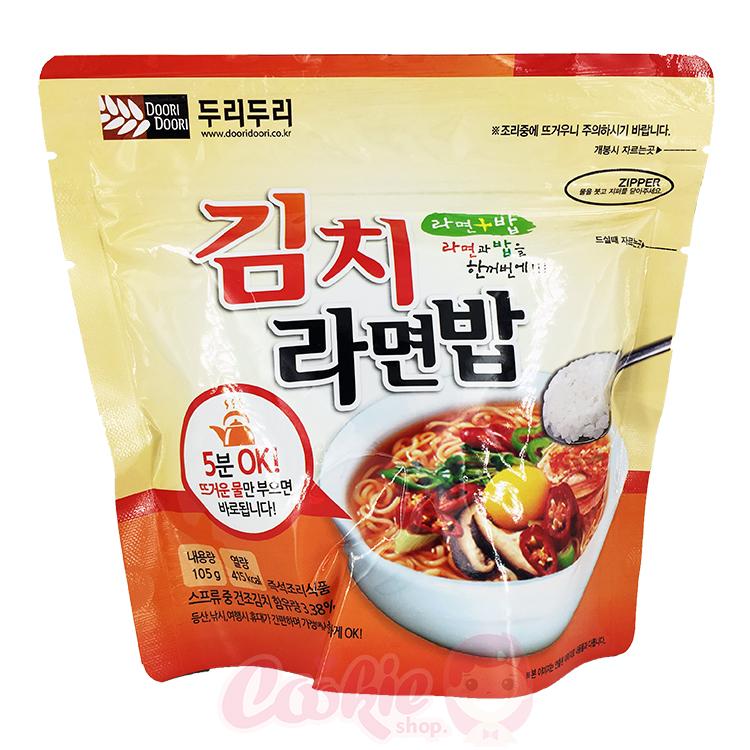 韓國 DOORI DOORI 泡飯麵 韓式泡菜口味(105g)【庫奇小舖】