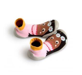★啦啦看世界★ Collegien 法國鞋襪 阿囉哈款