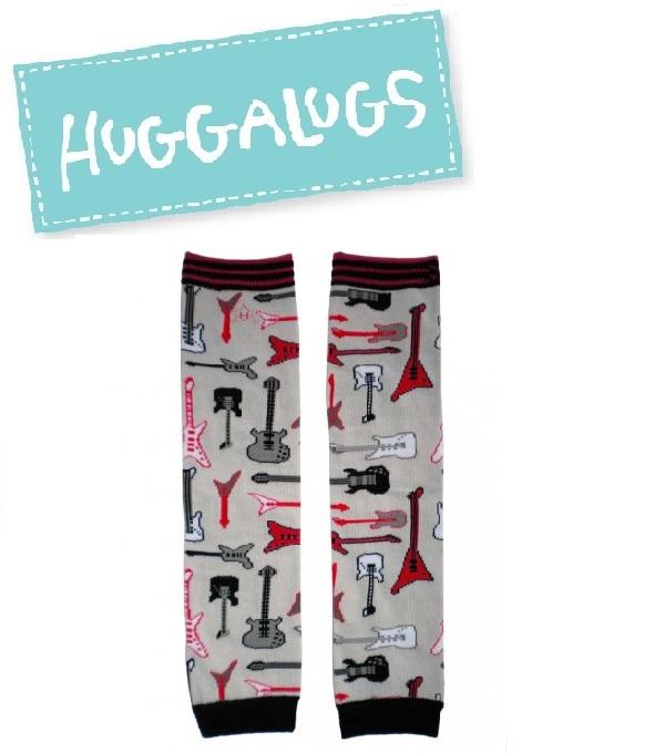 ★啦啦看世界★ Huggalugs 澳洲國民小童手襪套 / 小小搖滾明星襪套 Rockstar Legwamer