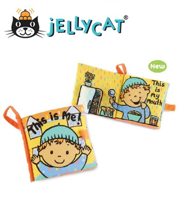 """★啦啦看世界★ Jellycat 英國玩具 / """" 這是我 """" 感官刺激布書"""