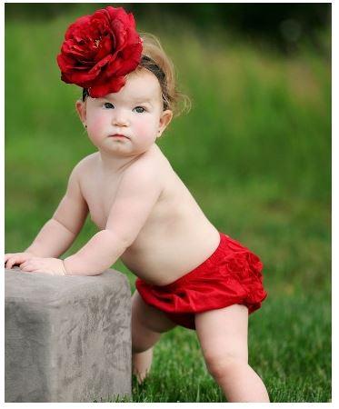 ★啦啦看世界★ Rufflebutts/ 紅色屁屁褲 尿布褲 小短褲 嬰兒彌月禮 出生