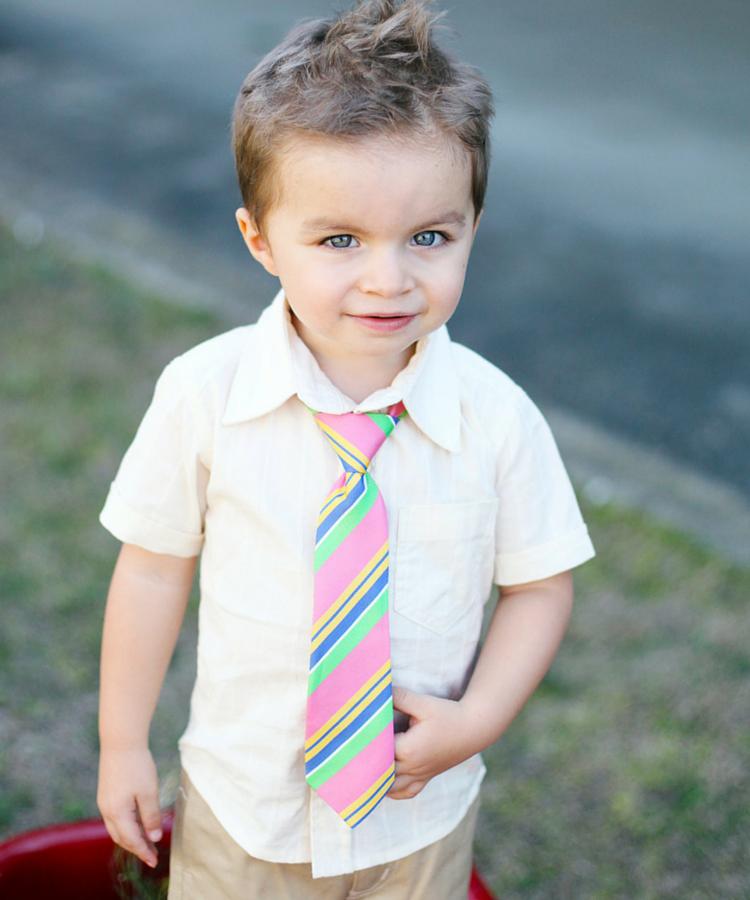 ★啦啦看世界★ Rufflebutts/ Ruggedbutts 小王子條紋領帶 /  嬰兒 衣服 彌月禮 出生