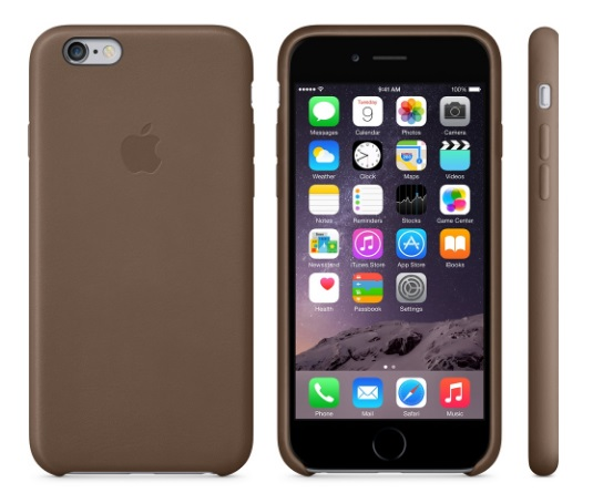 iPhone 6 Plus 5.5吋 原廠皮質護套 保護套 蘋果手機殼