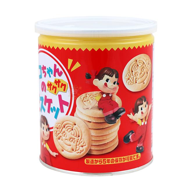 【0216零食會社】日本不二家-Peko造型餅乾罐120g