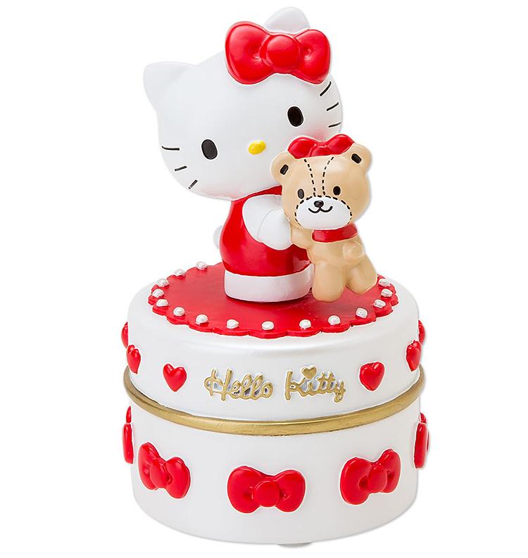 HELLO KITTY 40週年飾品盒