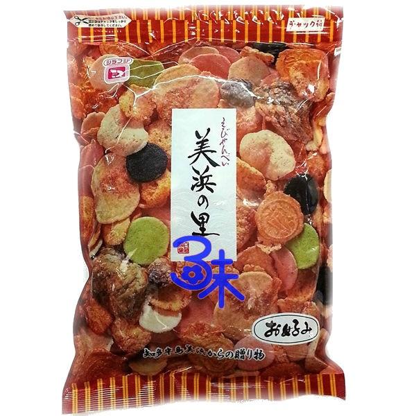 *無貨 勿下單* (日本)  白藤製菓 美濱里米果 (美濱里綜合蝦餅) 1包 220 公克 特價 185 元【4901804050221】