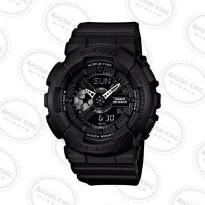 國外代購CASIO BABY-G Ba-110BC-1A 消光黑 雙顯 防水 手錶 腕錶 情侶錶