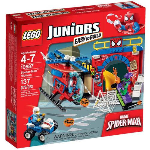 樂高積木LEGO《 LT10687 》2015 年Junior 初學級系列 - 蜘蛛人™藏身處