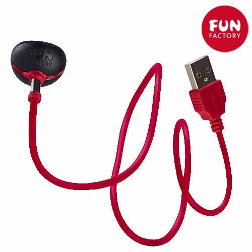 [漫朵拉情趣用品]德國【Fun Factory】CNC高科技磁吸充電器USB充電線(CNC充電系列共用)* DM-9233308-2