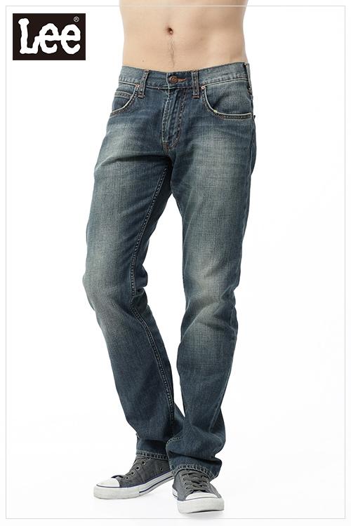 【Super Sales 褲款下殺↘2.5折】LEE 728 低腰標準直筒牛仔褲