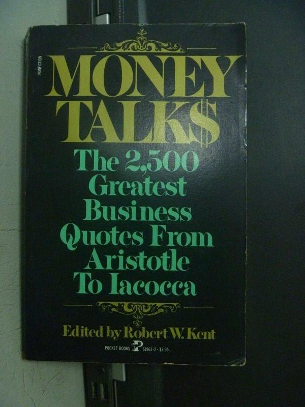【書寶二手書T7/投資_OFL】Money Talk$:The 2500 Greatest Business