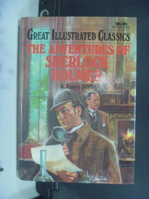 【書寶二手書T6/原文小說_GMZ】The Adventures of Sherlock Holmes