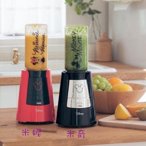 日本直送 迪士尼 Disney 米奇米妮圖案 隨行杯果汁機 蔬果調理機