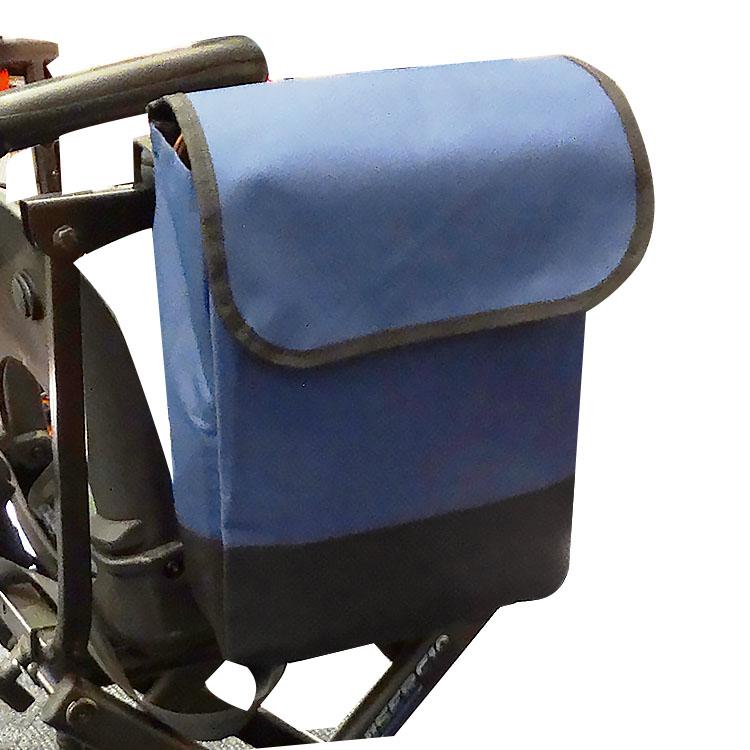 便攜掛袋 - 電動代步車用、輪椅用,防潑水處理,側扶手、後扶手皆好掛