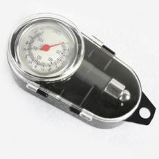 【省錢博士】汽車輪胎測量表 高精密度胎壓計 機械胎壓表 金屬氣壓表 可放氣