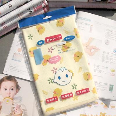 鴨子可愛隔尿墊 防水小嬰兒隔尿墊   【省錢博士】 39元