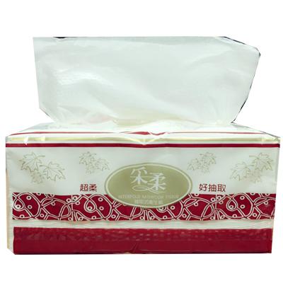 """【超級團購】台灣製 超柔優質抽取式衛生紙 """"媲美舒潔""""  400張200抽 1包入 16元"""