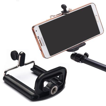 手機自拍夾 手機夾 【省錢博士】可連接支架、自拍桿、自拍器