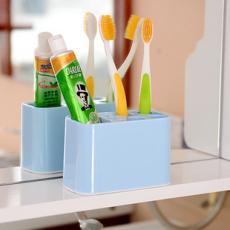 【省錢博士】炫彩創意牙刷架洗漱套装/衛浴情侣牙刷架洗漱用品