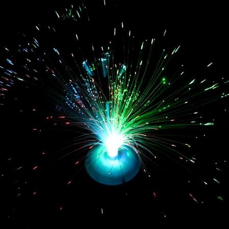 閃光光纖花發光纖燈【省錢博士】七彩滿天星變色閃光燈
