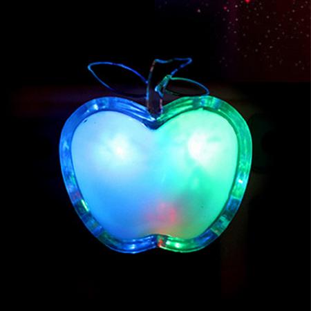 居家造型插座LED小夜燈【省錢博士】插頭式七彩小夜燈