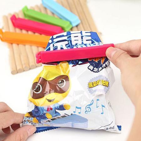 糖果色零食封口夾/ 食品防潮密封夾 / 隨機出貨 【省錢博士】
