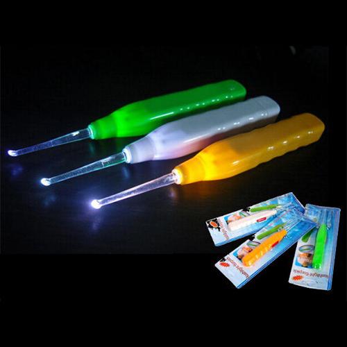 發光挖耳勺/兒童帶燈潔耳器/掏耳器【省錢博士】