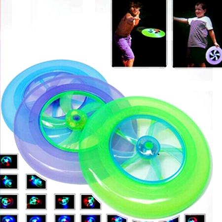 UFO發光旋轉飛盤【省錢博士】兒童戶外玩具 / 隨機出貨