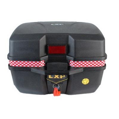機車置物箱 後尾箱-大容量堅固簡約手提摩托車用品3色(大款)73q5【獨家進口】【米蘭精品】