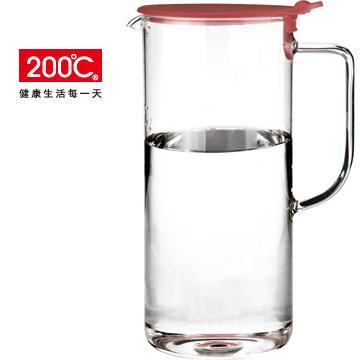 【200℃】純手工製1.2L耐熱玻璃冷熱兩用水壺