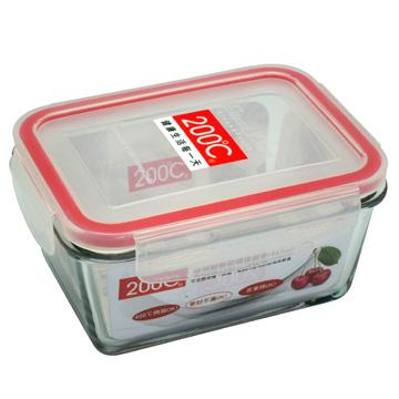 【200℃】迪福 耐熱玻璃保鮮盒(465ml)