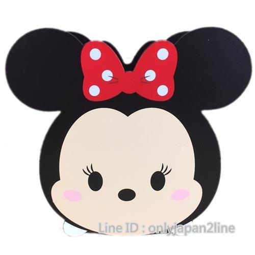 【真愛日本】16112600002TSUMTSUM木頭筆筒-米妮   迪士尼 米老鼠米奇 米妮  筆筒  收納盒  文具