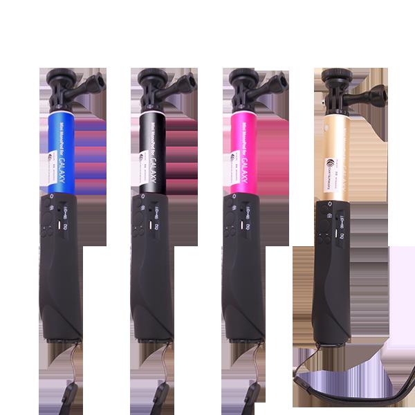 三星 SAMSUNG 自拍桿自拍神器 鋁合金 五段式自由伸縮 支援iphone  Android 藍芽配對【葳訊數位生活館】